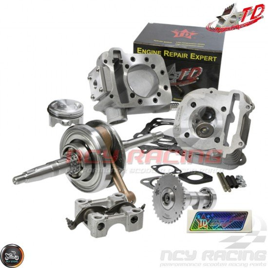Taida Big Bore Combo 62mm 174.5cc LC 2V w/Forged Piston Fit 54mm (GY6)
