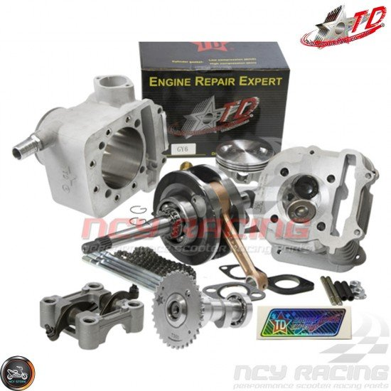 Taida Big Bore Combo 67mm 232cc LCC 2V w/Forged Piston Fit 57mm (GY6)