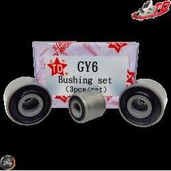 Taida Crankcase Bushing 3-Piece Set (139QMB, GY6)