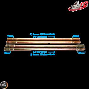 Taida Cylinder Stud 187.5mm 195.5mm 2V Set (GY6)