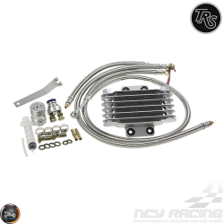 TRS Oil Cooler 17mm Kit (QMB, GY6, Universal)