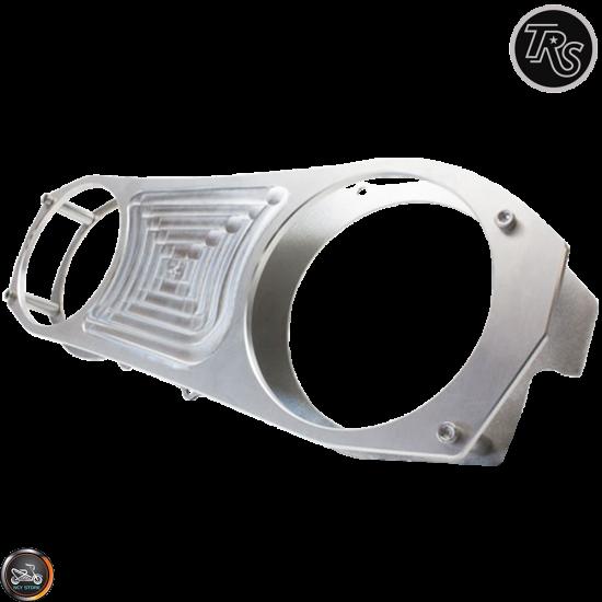 TRS CVT Cover Anklebiter Silver (GY6 longcase)