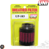 """Uni Breather Filter 1/2"""" Clamp-On (UP-103)"""