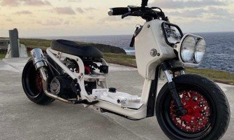 Honda Ruckus Scooter Mod