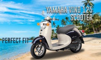 Yamaha Vino 125 Scooter The Perfect Fit